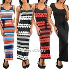 SeXY WoMeNS RaCeR BaCK BeLT Tie FiTTeD STReTCHY LoNG MaXi SuMMeR SuN DReSS S,M,L