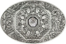 NANO LAST JUDGMENT Florence Ceilings of Heaven Silver Coin 5$ Cook Islands 2014