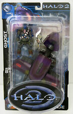 Halo 2 Series 3 Joyride Studios - Ghost with Mini-Brute - New / MIP
