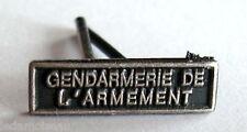 Agrafe barrette  MINIATURE, GENDARMERIE DE L'ARMEMENT, 14 x 4 mm pour rappels.