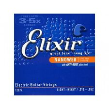 Elixir El. Guitar Light Heavy 010-052, I12*