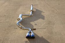 CNT V2 catback exhaust for 2012 2013 2014 Ford Focus ST with blue tips