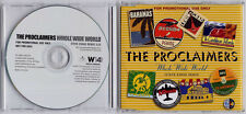 THE PROCLAIMERS Whole Wide World 2007 UK 1-track promo CD Wreckless Eric