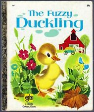 THE FUZZY DUCKLING ~ Vintage Children's Little Golden Book