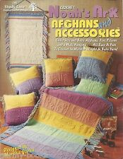 Noah's Ark Afghans & Accessories Crochet Instruction Patterns Baby Children NEW