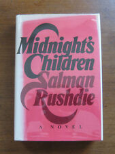 MIDNIGHT'S CHILDREN by Salman Rushdie - 1st/1st  - 1981 HCDJ VG+