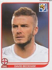 N°190 DAVID BECKHAM # ENGLAND STICKER PANINI WORLD CUP SOUTH AFRICA 2010