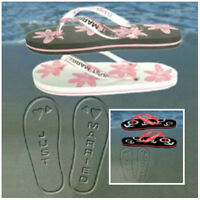 JUST MARRIED FLIP FLOPS IN WOMENS & MENS - PERFECT WEDDING / HONEYMOON GIFT!!