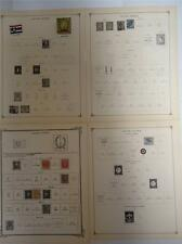 Antique Dutch Indies Postage Stamps 1870-1922 On Page Lot of 11 - Make an Offer