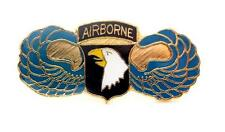 Wholesale Lot of 12 101st Airborne Division US Army Lapel Hat Pin Military PM044