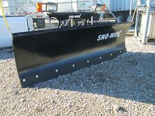"Sno Way Snow Plow 29HD 7' 6"" Complete Plow Package"