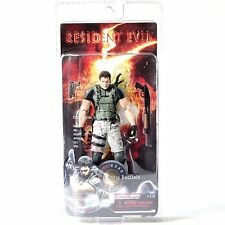 "Resident Evil Chris 7"" Action Figure New In Box"