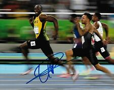 Olympic Champion Usain Bolt Autographed 8x10 Photo (Reproduction) 6