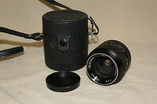 AUTO MAMIYA SEKOR 35mm 1:2.8 PRIME LENS M42 MOUNT WITH CASE & CAPS  EUC 6794