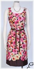 New Women's Madison Leigh Floral Print Cotton Casual Dress Sz 10P $86
