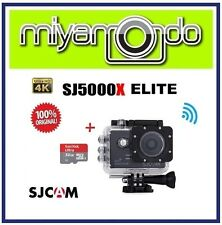 SJCAM Original SJ5000X WiFi Action Camera (Black) + Sandisk Ultra microSD 32GB