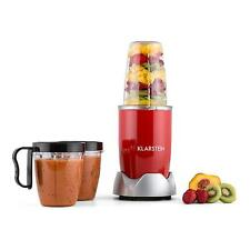 TOP MIXEUR BLENDER ELECTRIQUE KLARSTEIN NutriRocket SMOOTHIE MAKER 1L 700W ROUGE