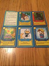 Webkinz Action, Character, Pet, Item, & Arcade Trading Game Cards