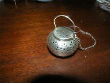 ANTIQUE STERLING FIGURAL CHINESE PAPER LANTERN TEA BALL TEABALL strainer WEBSTER