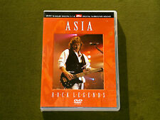 ASIA ROCK LEGENDS LIVE DVD NEW John Wetton Anderson Bruford Wakeman Howe Kansas