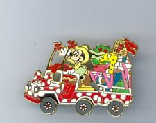 Disney Animal Kingdom Mickey's Jammin' Jungle Parade Minnie Mouse Car Float Pin