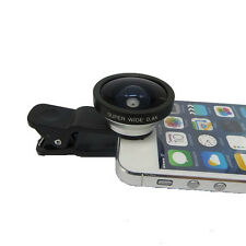 Super Wide 0.4X Angle Selfie Camera Lens W/Clip For iPhone 4S 5S 6 Plus Samsung