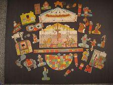 Vintage RARE 1935 Little Orphan Annie Circus Paper Dolls / Ovaltine