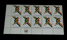U.N. 1976, NEW YORK #273, W.F.U.N.A. ISSUES. INSC. BLK/10, NICE! LQQK!