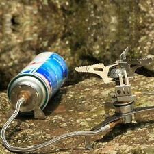 Camping Stove Burner Converter Connector Gas Cartridge Tank Adapter Hiking Cook