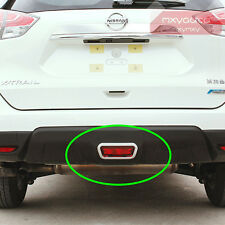 New ABS Rear Brake Light Cover Chrome Trim For Nissan X-trail Rogue 14 15 2016