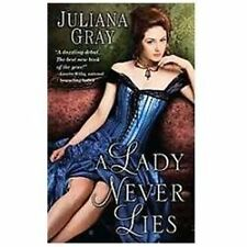 * A Lady Never Lies by Juliana Gray V-GOOD PB COMBINE&SAVE