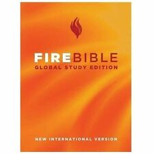 Fire Bible: Global Study Edition: New International Version (2010, Hardcover)