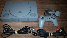SONY PLAYSTATION 1 PS1 CONSOLE SYSTEM SCPH-5501 W OEM BRAND SONY CONTROL VG COND