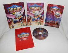 Disney DUMBO Big Top Edition DVD w/ Collector's Sleeve / Slip Cover & Card Game
