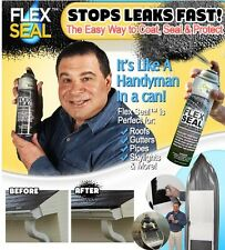 1 (one) Flex Seal Rubber Spray Sealant As Seen On TV 14 oz CLEAR Cans NEW!