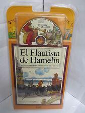EL FLAUTISTA DE HAMELIN LIBRO Y AUDIO CD CUENTOS ESPANOL PARA NINOS ILUSTRADO