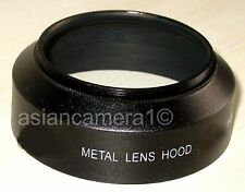 US Seller 52mm Metal Lens Hood AntiGlare Sun Shade Screw-in Mount 52 mm U&S