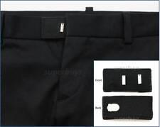 Black & Loop Suit Pants Shorts Trouser Extend Expansion Enlarge Widen Waist Size