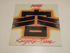 ACCEPT : KAIZOKU-BAN  - LP 1985 PORTRAIT RECORDS MADE IN GREECE - NM/EX++