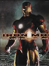 IRON MAN MOVIE MASTER SET AUTOGRAPHS INSERTS COSTUMES BINDER INCENTIVES +++