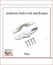 ANDERSEN WINDOW  DH SASH LOCK WHITE
