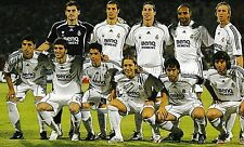 REAL MADRID FOOTBALL TEAM PHOTO 2006-07 SEASON