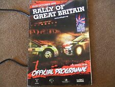 2009 WRC Rally of Great Britain GB Official Programme
