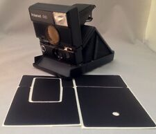 Polaroid SLR690 PolaSkinz Nappa Leather Original Black Replacement Skin SX70