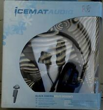 Icemat Audio Black Siberia Multi Headset - In Box - NOT WORKING, FOR PARTS ONLY