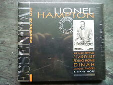 LIONEL HAMPTON Essential Masters of Jazz NEW & SEALED 20 TRACK CD ALBUM