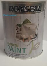 ronseal garden paint 750ml / 2.5l all colours