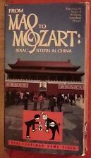 From MAO to MOZART - Isaac Stern in China (1980, Karl Lorimar Home Video) VHS VG