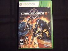 Replacement Case (NO GAME) CRACKDOWN 2 XBOX 360