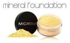 Micabella (MICA BEAUTY ) Mineral  Foundation #MF5Cappuccino + SAMPLE BRONZER